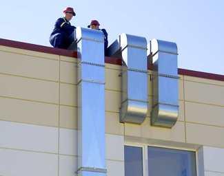 монтаж вентиляционного оборудования в Санкт-Петербурге (СПб)