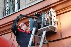обслуживание кондиционеров спб и заправка кондиционера на дому