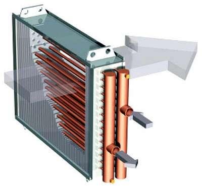 Выбор теплообменника вприточной вентиляции курсовая работа по расчёту спирального теплообменника для охлаждения гидролизата водой