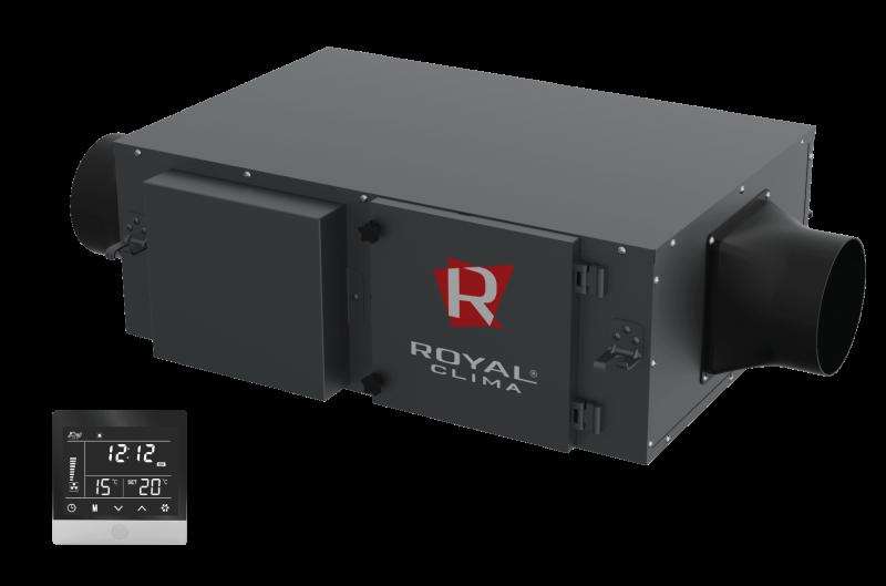 Компактная приточная установка VENTO RCV-500 с нагревателем 3,4 кВт
