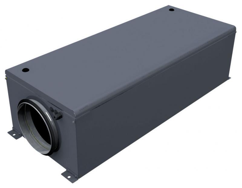 Вентиляционная установка с электронагревом LV-WECU 400-5,0-1 EC E15