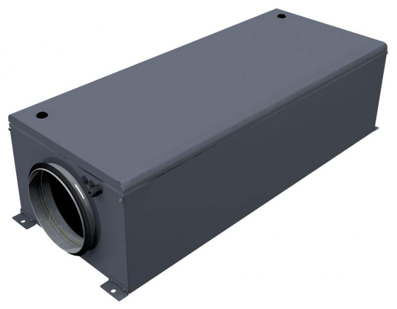 Вентиляционная установка с электронагревом LV-WECU 700-2,4-1 EC E15